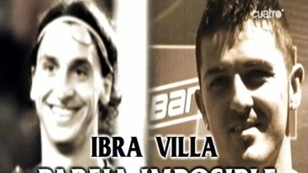 Ibrahimovic y Villa, ¿compatibles?