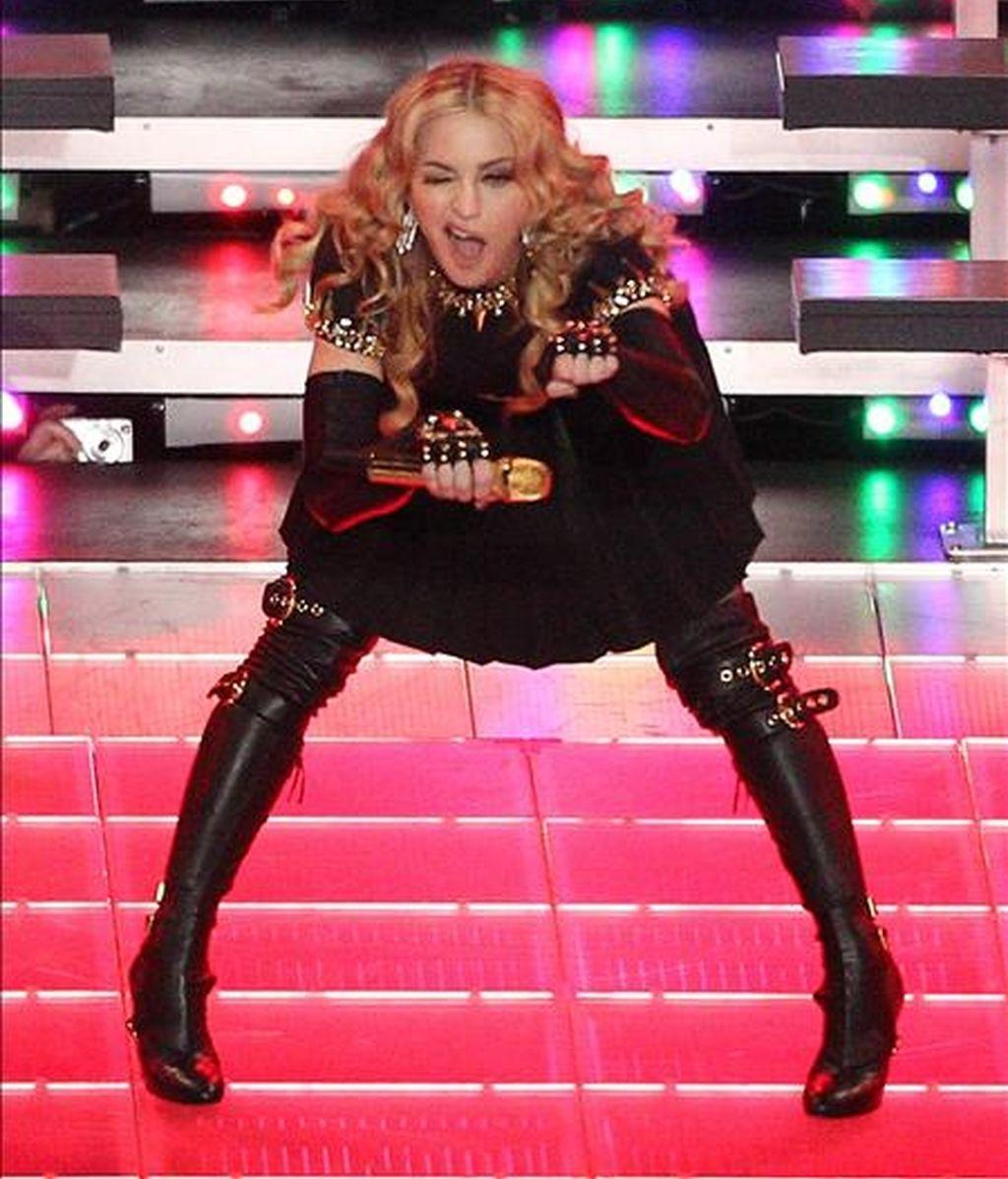 Madonna actuará hoy y mañana en Barcelona