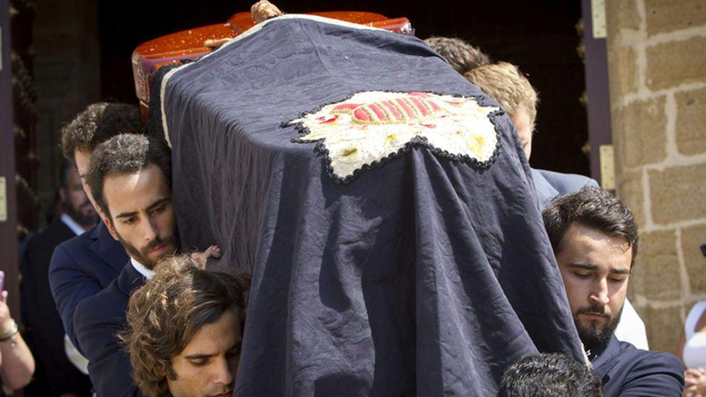 Funeral en Rota de José María Ruiz-Mateos