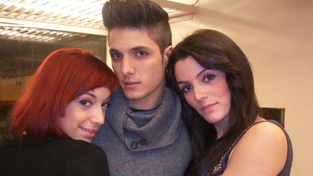 Paula, Vero y Marc