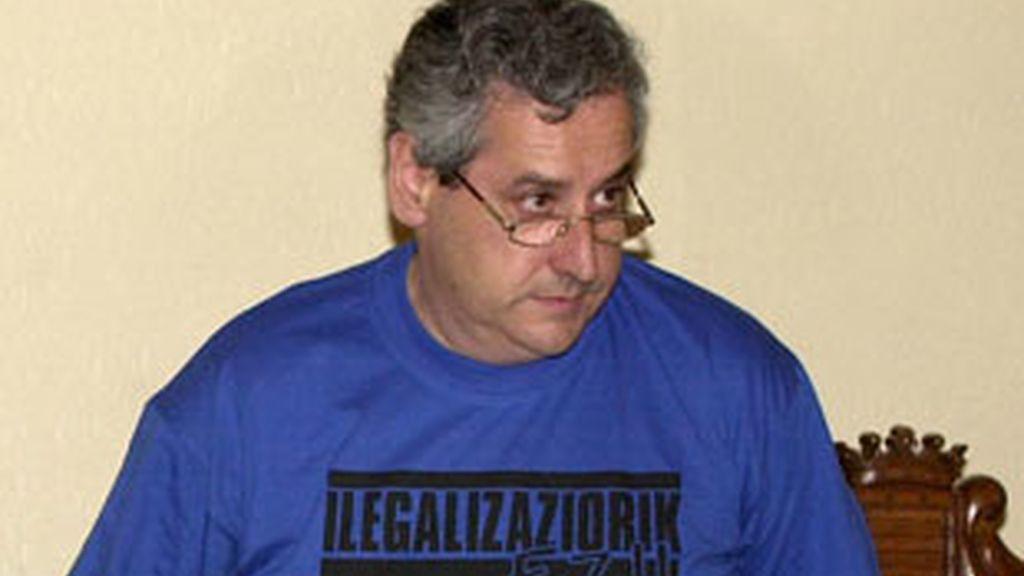 El ex alcalde de Andoain está acusado de presunta colaboración con ETA. Vídeo: Atlas