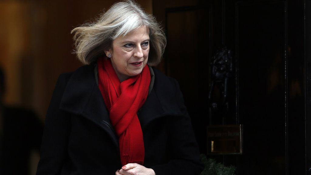 Theresa May, ministra del Interior británica