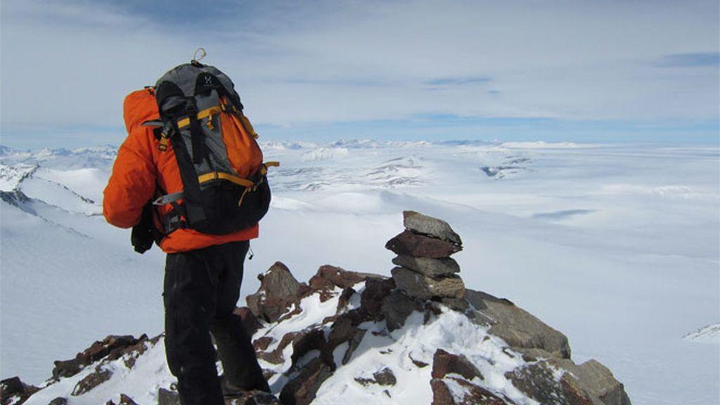 Jesús Calleja conquista el Polo Sur
