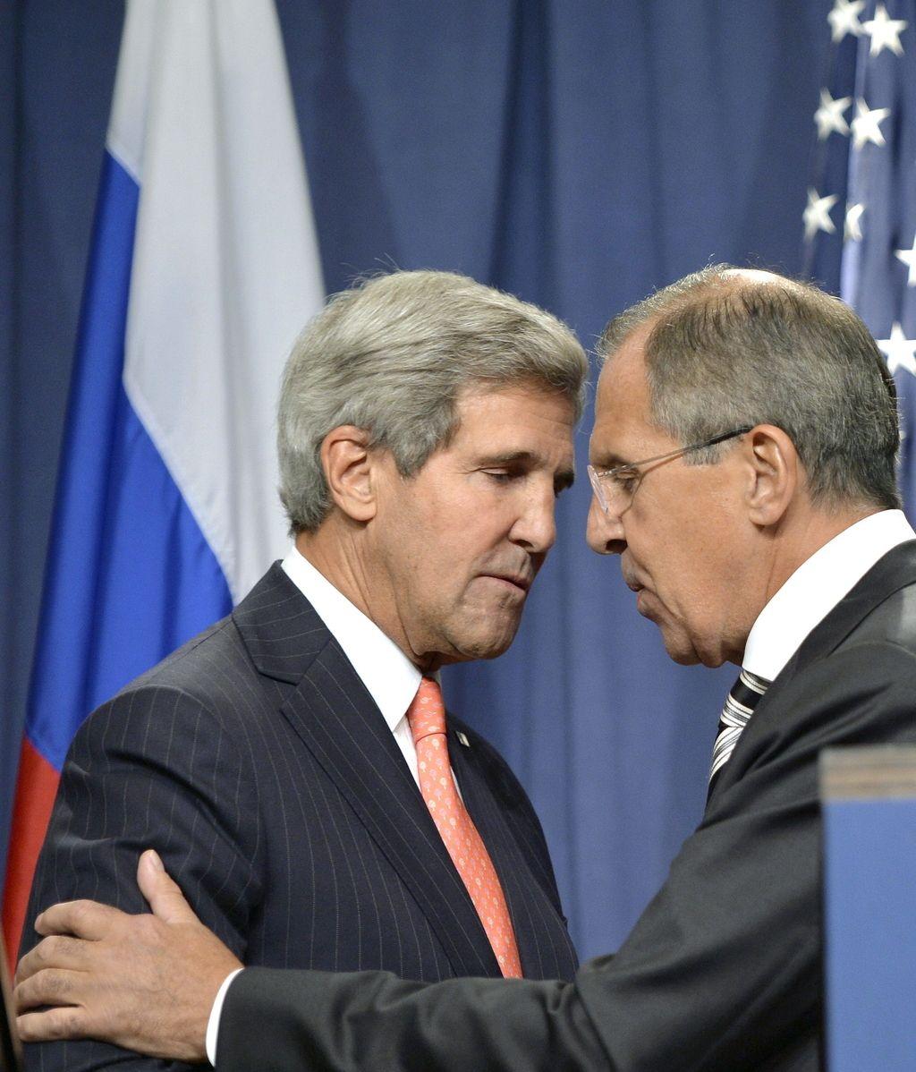 EEUU y Siria. Foto: EFE