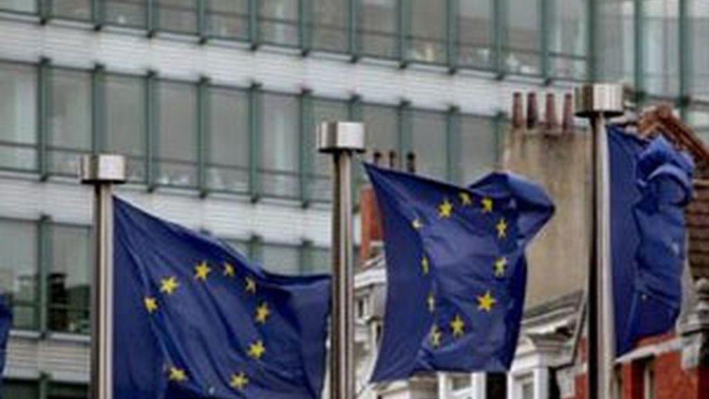 Los ministros de finanzas de la Eurozona debaten el futuro de Grecia. Foto: EFE