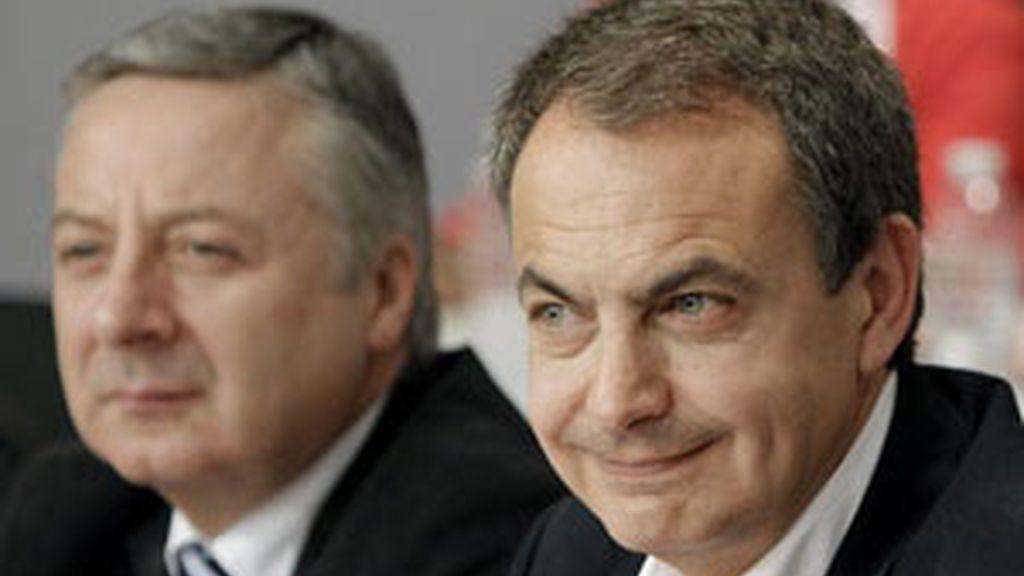 Zapatero ironiza en su primer mitin en Murcia. Vídeo: ATLAS