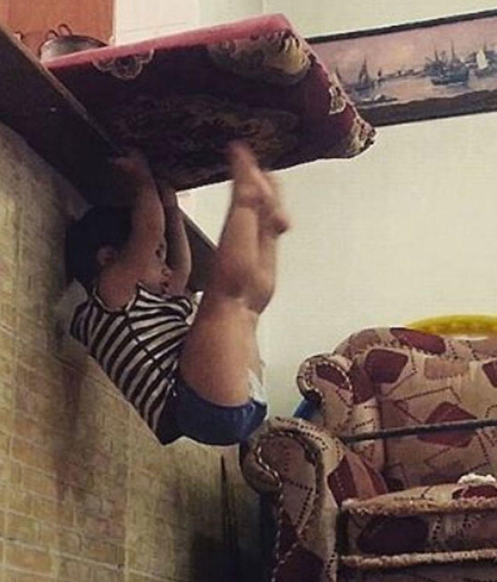Un gimnasta con mucho futuro
