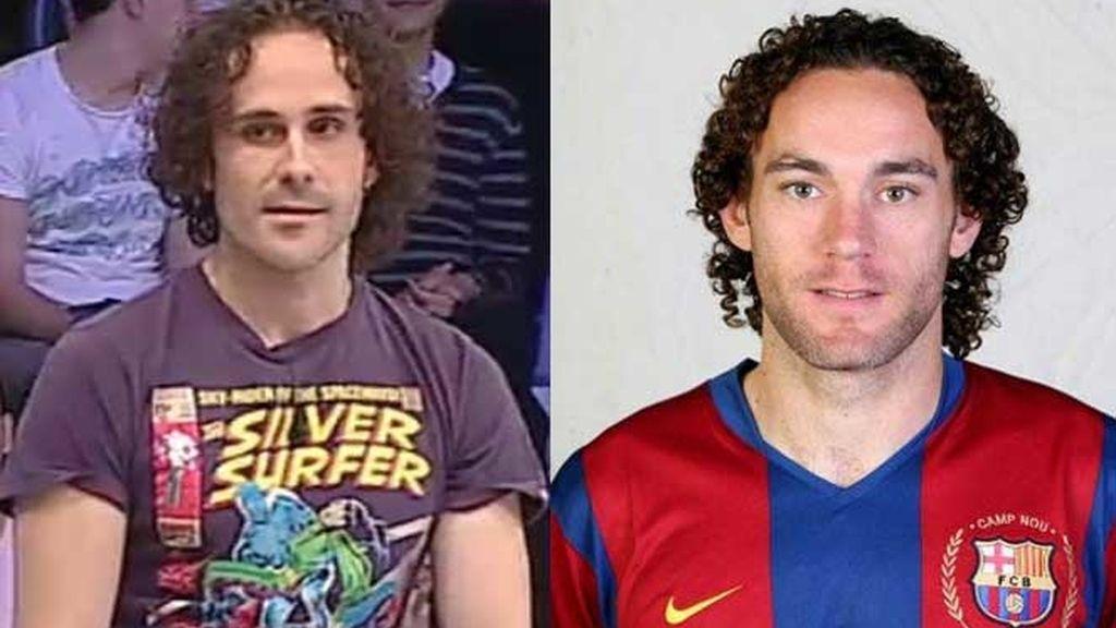 ¿Se parece Borja a Gabi Milito el futbolista?