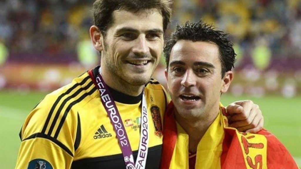 Iker Casillas, Xavi Hernández