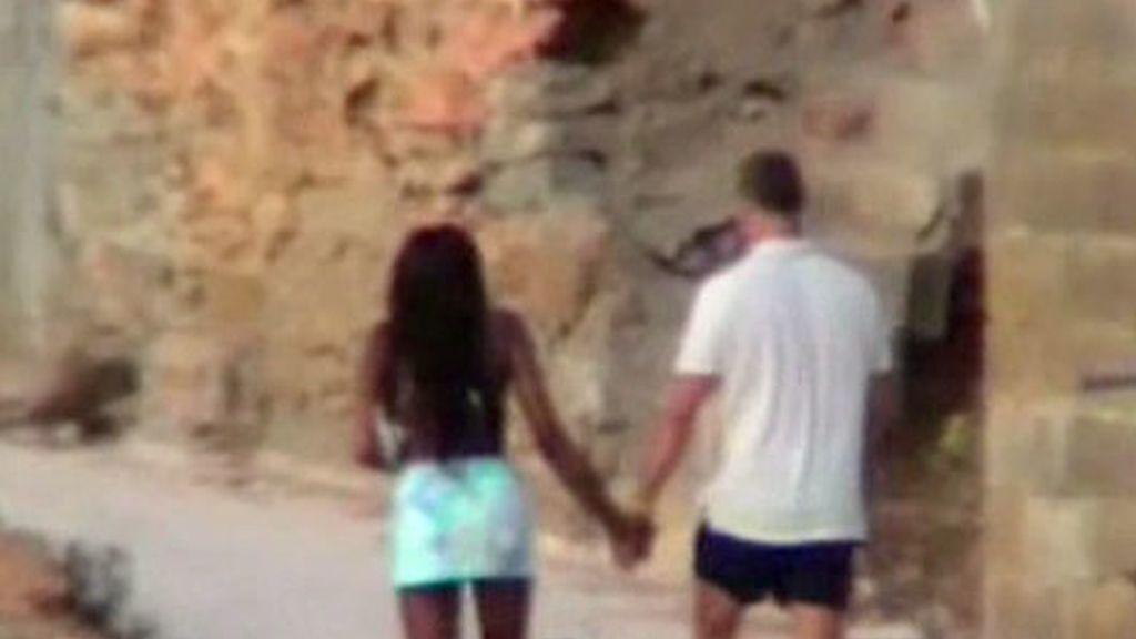 Naomí Campbell disfruta en Ibiza
