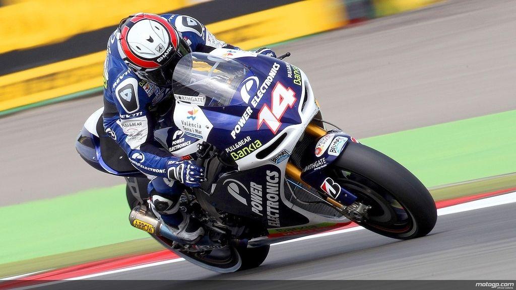 Randy De Puniet durante los libres del GP de Holanda