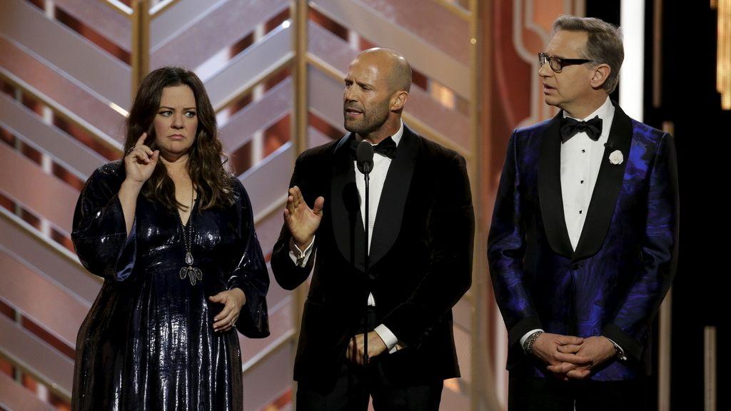 Melissa MCarthy, Jason Statham y Paul Freig