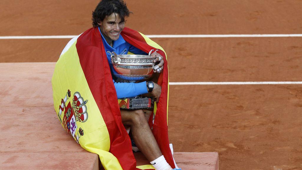 Rafa Nadal, campeón de Roland-Garros en 2011
