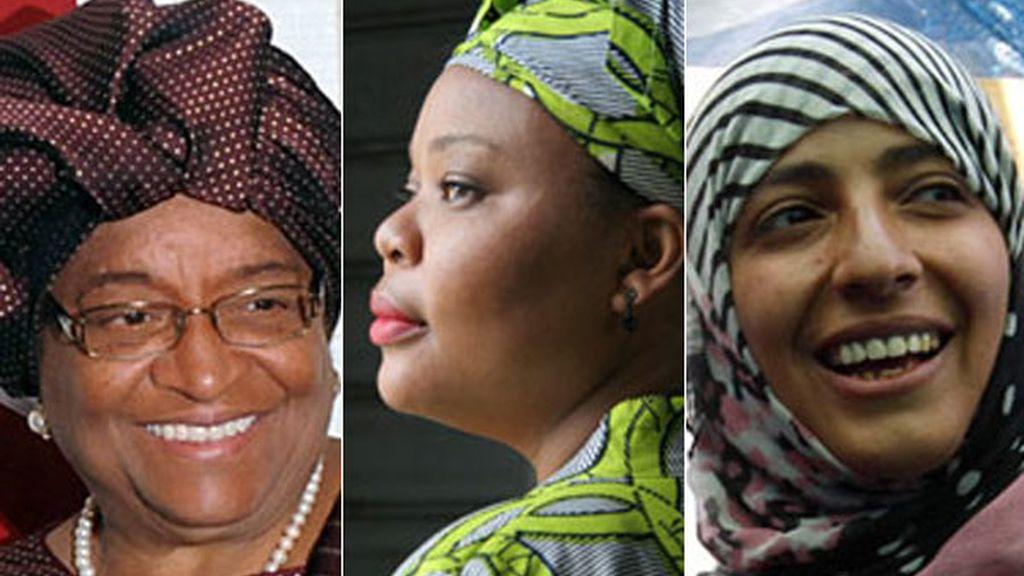 Ellen Johnson-Sirleaf, Leymah Gbowee, Tawakkul Karman, Premio Nobel de la Paz