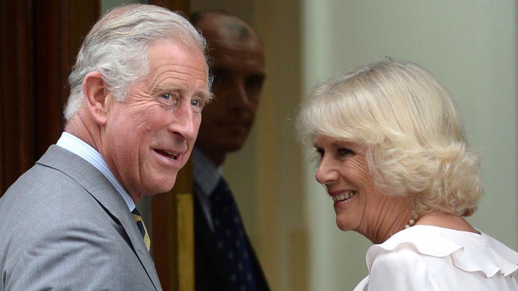 Príncipe Carlos y la Duquesa de Cornwall