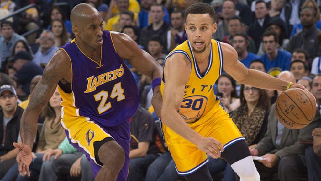 """Curry, el que está llamado a superar todos los récords de la """"Mamba Negra"""""""