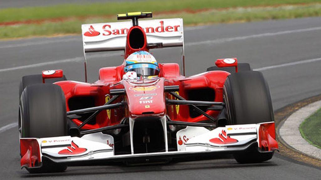 Alonso, sexto en los primeros  libres