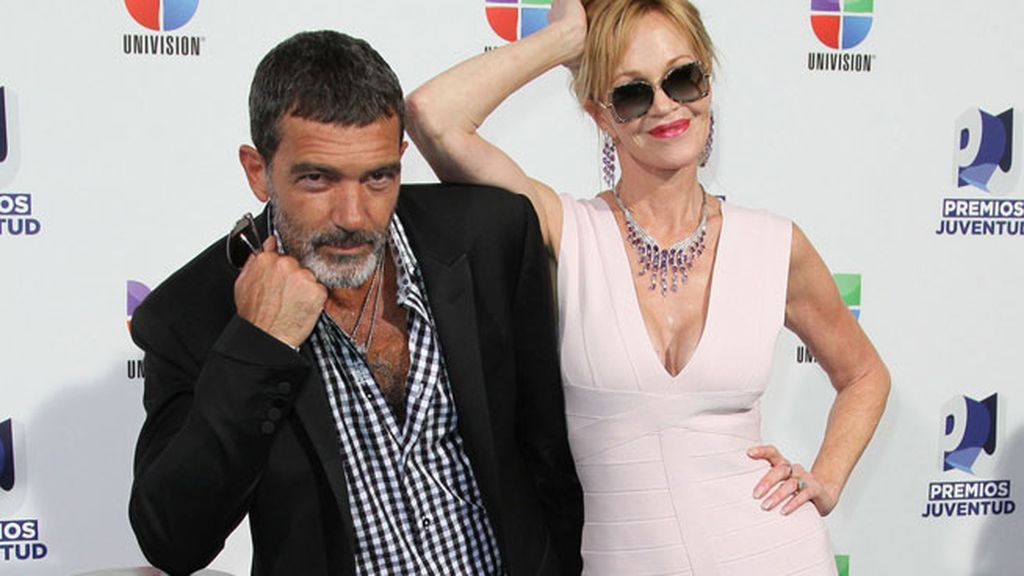 Melanie Griffith y Antonio Banderas, ¿una pareja sólida?