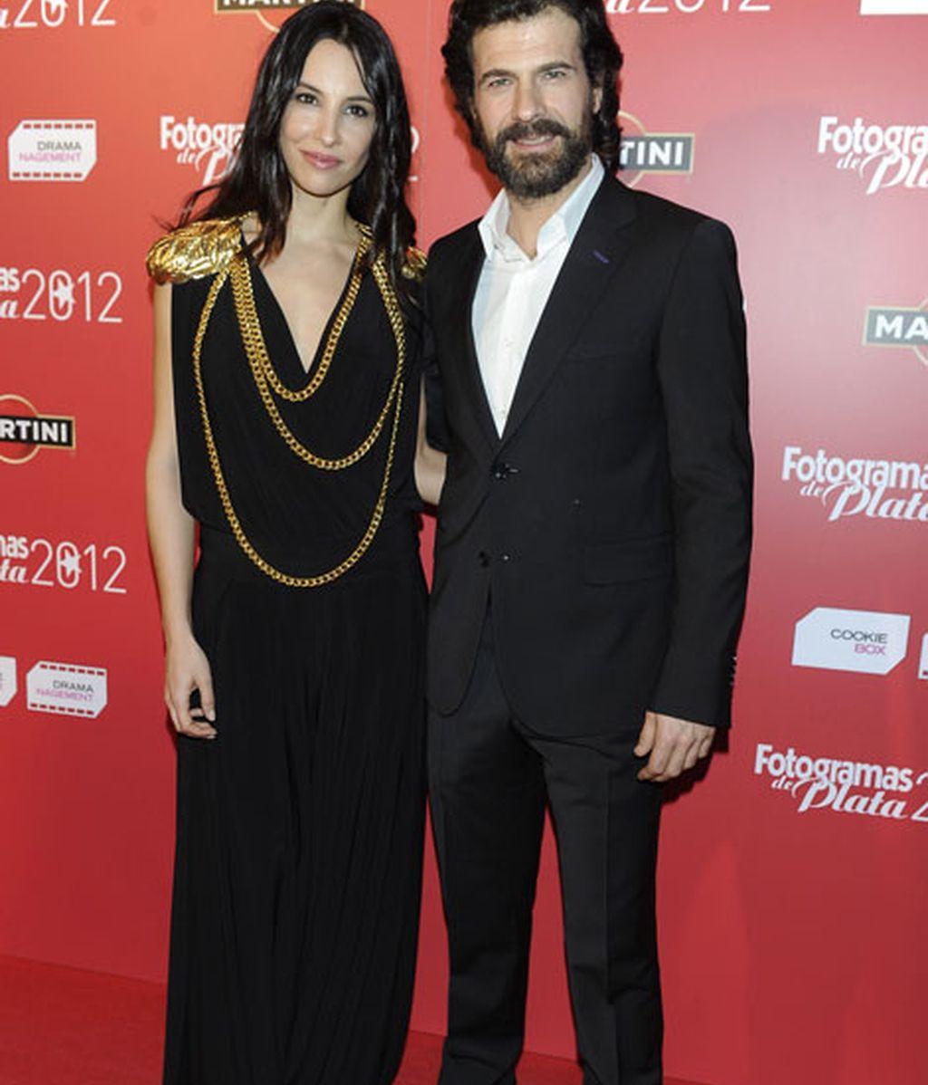 Xenia Tostado y Rodolfo Sancho no se perdieron tal acontecimiento