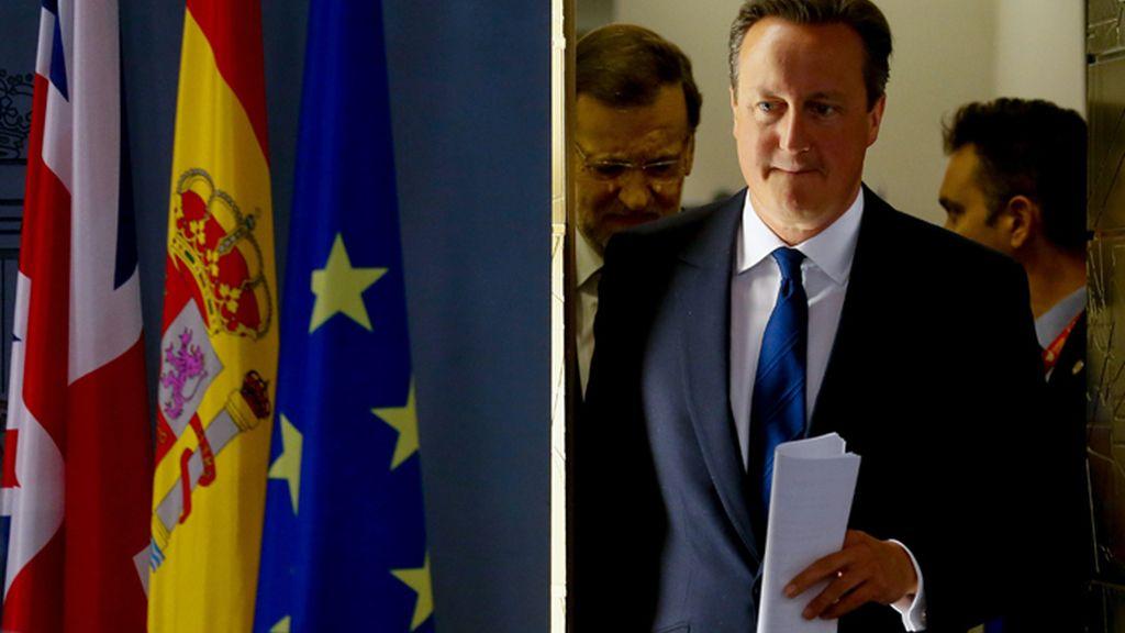 Rueda de prensa de Mariano Rajoy y David Cameron en La Moncloa