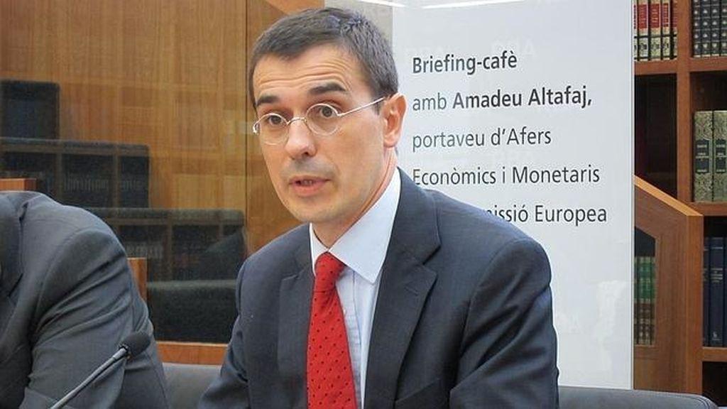Amadeu Altafaj, portavoz de Asuntos Económicos