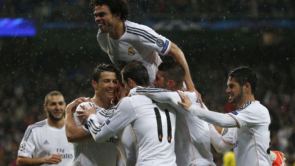 El Madrid acaricia las semifinales