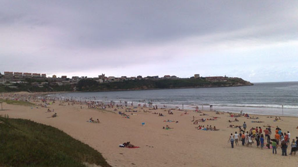 Playa de la Concha, Suances