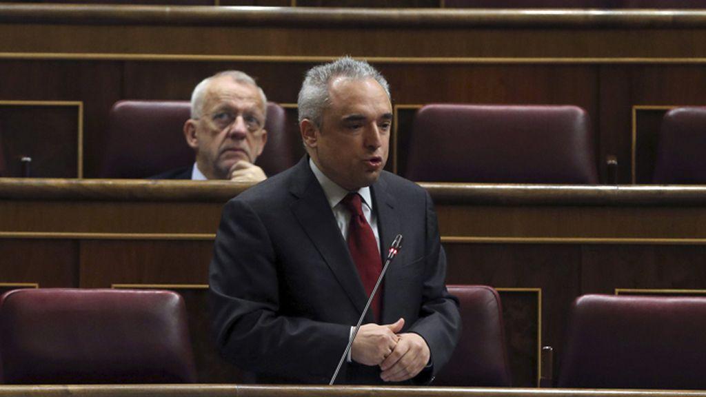 Rafael Simancas en el Congreso