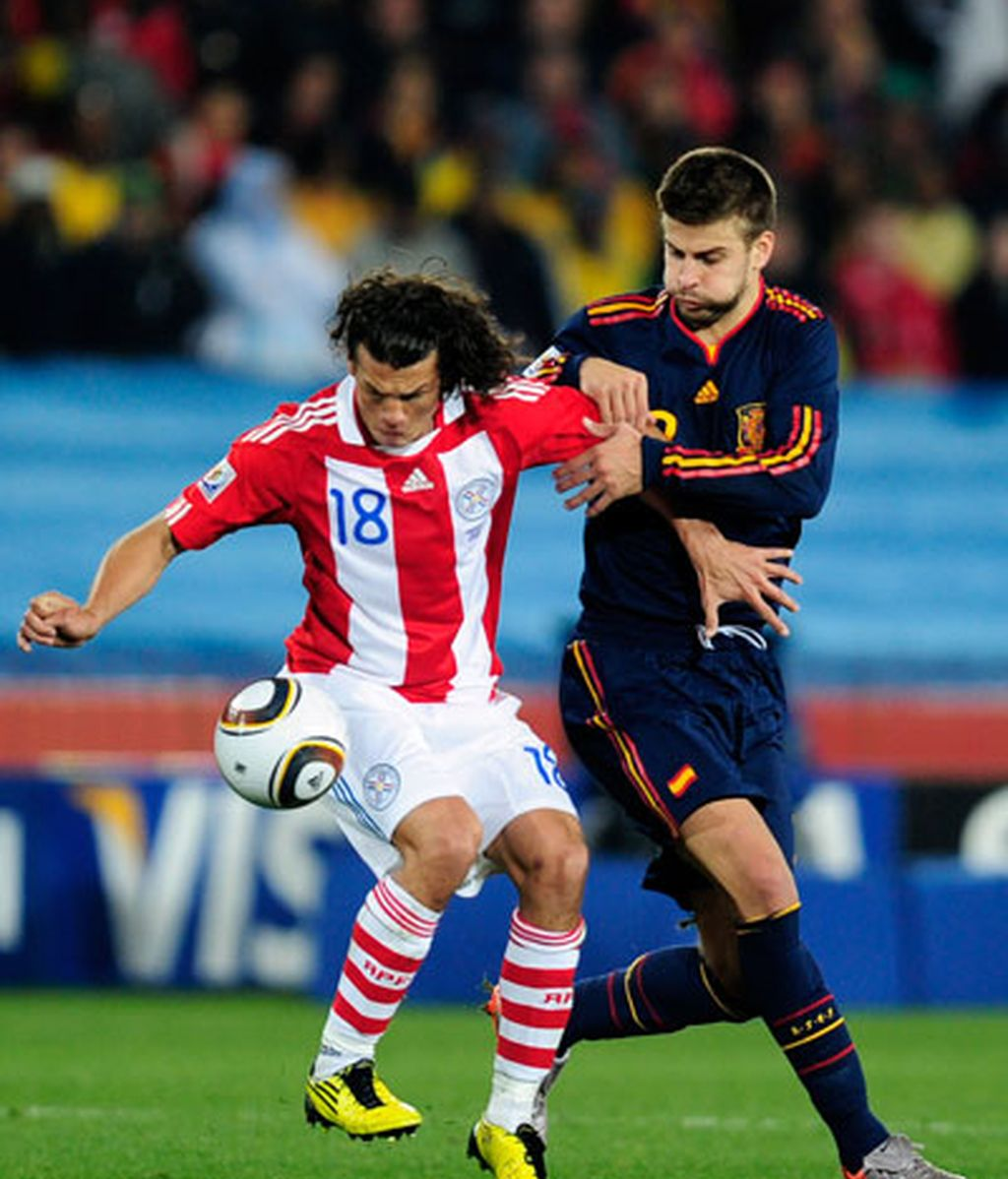 España- Paraguay, ¡¡¡ Semifinalistas !!!