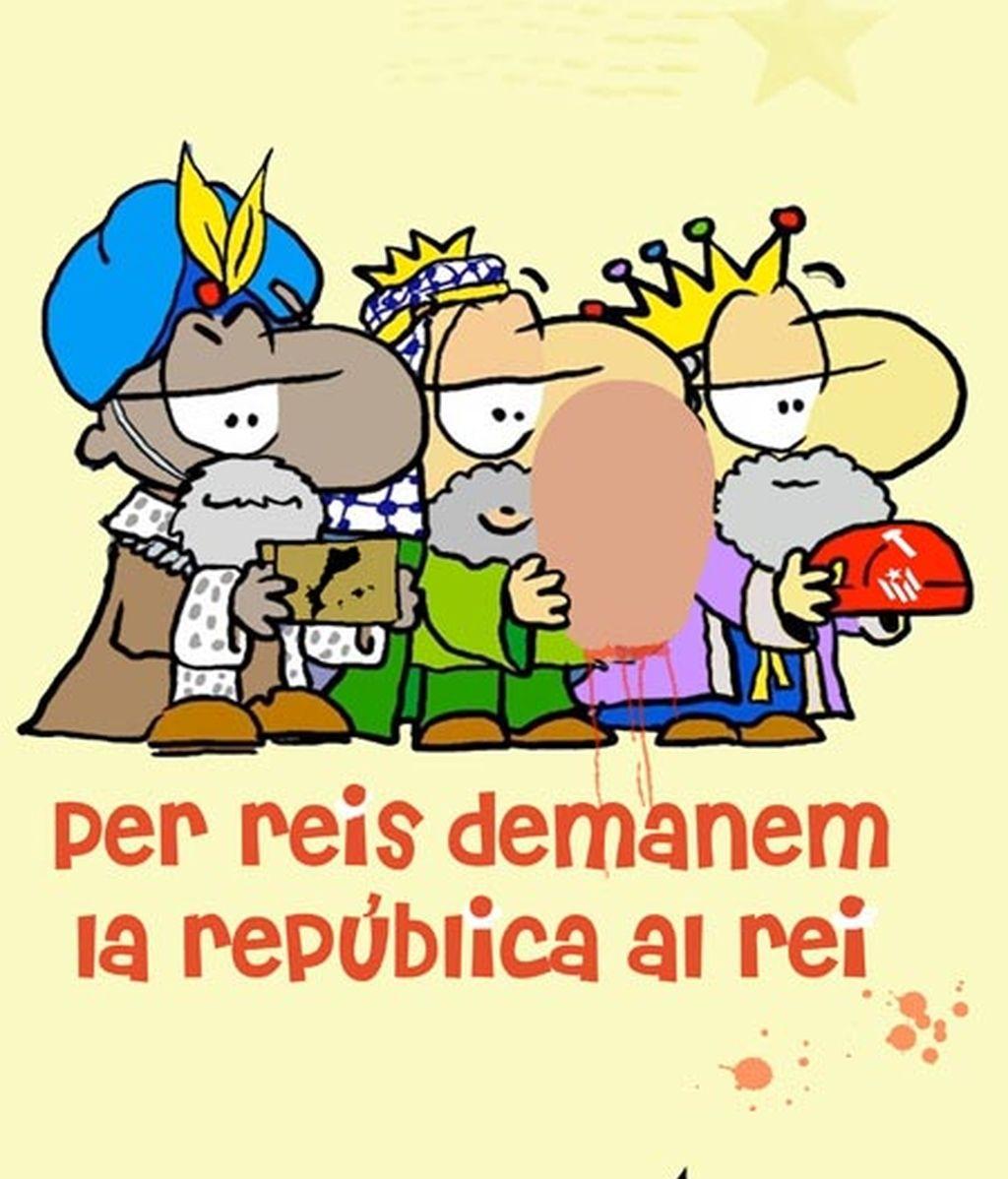 Las juventudes de ERC 'ahorcan' al Rey