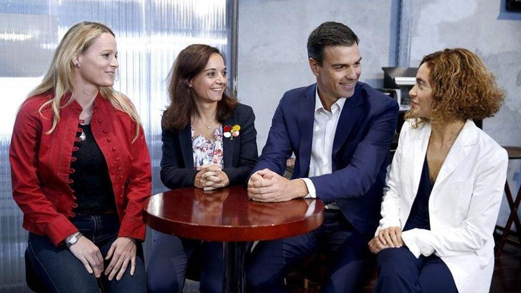 Pedro Sánchez presenta a sus candidatas por Madrid