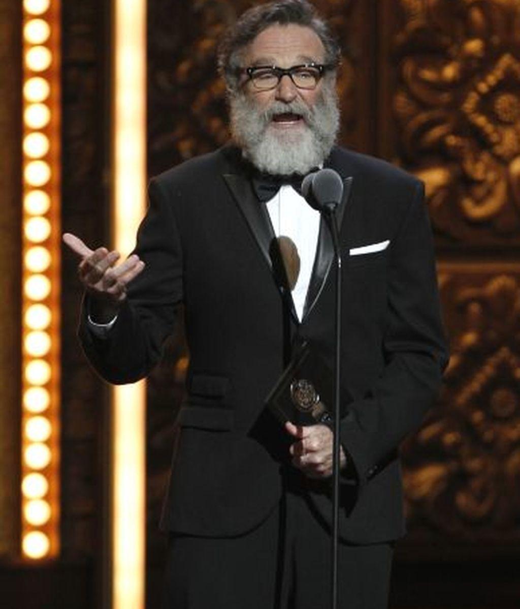 Robin Williams, en el escenario