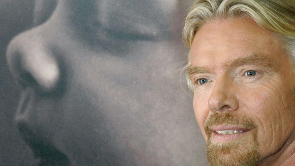 Richard Branson,fundador del Grupo Virgin
