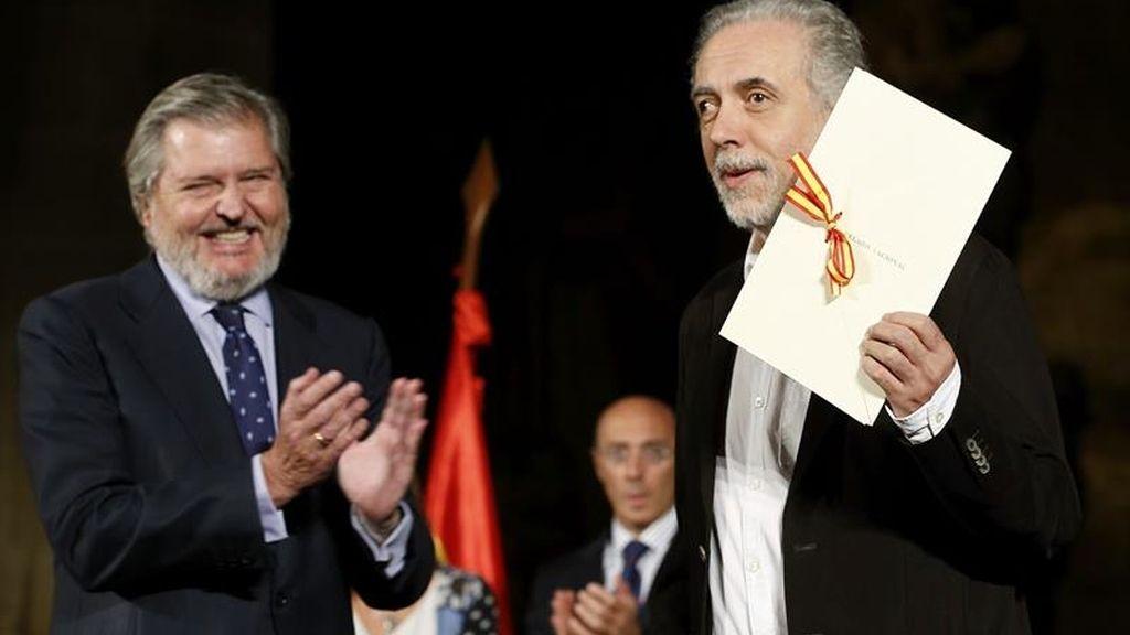 """Trueba, Premio Nacional de Cinematografía 2015, reclama a políticos y gobiernos """"libertad y protección"""" para la cultura"""