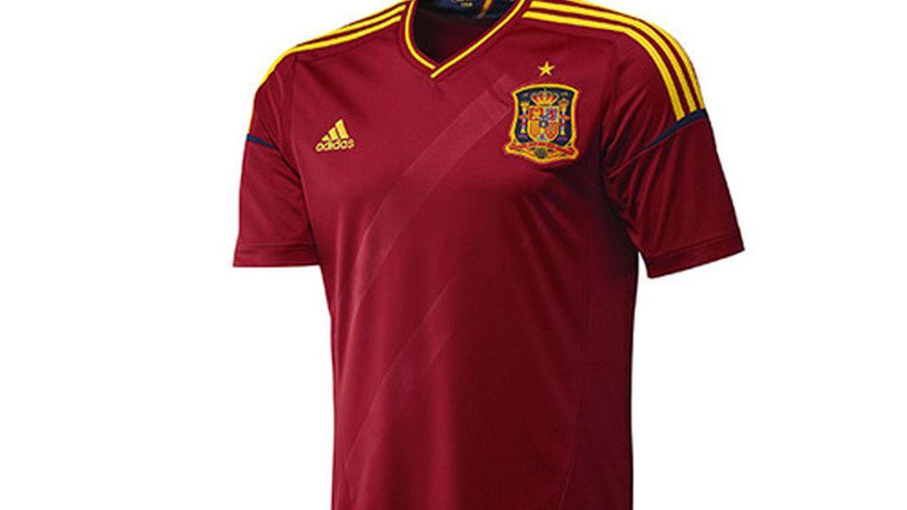 Primera equipación de España