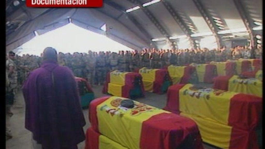 Un total de 162 españoles han perdido la vida en misiones en el extranjero