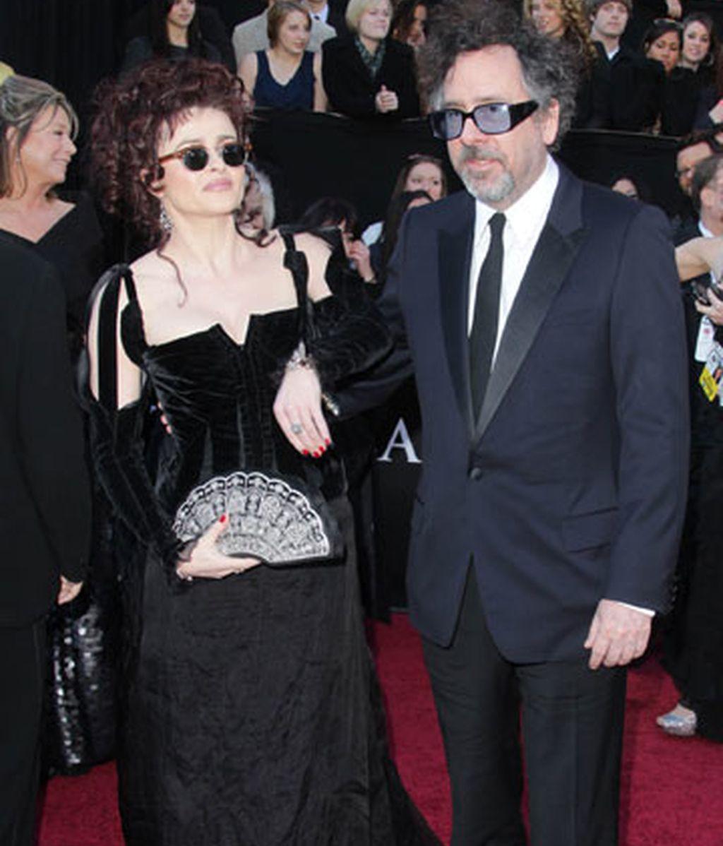 Tim Burton y Helena Bonham-Carter