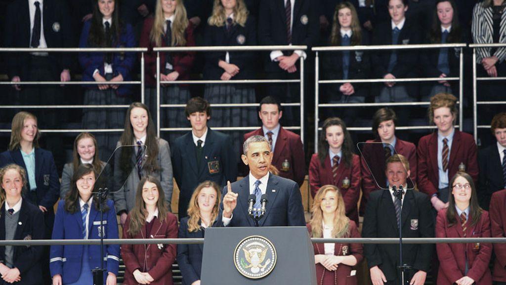 Obama en Irlanda del Norte