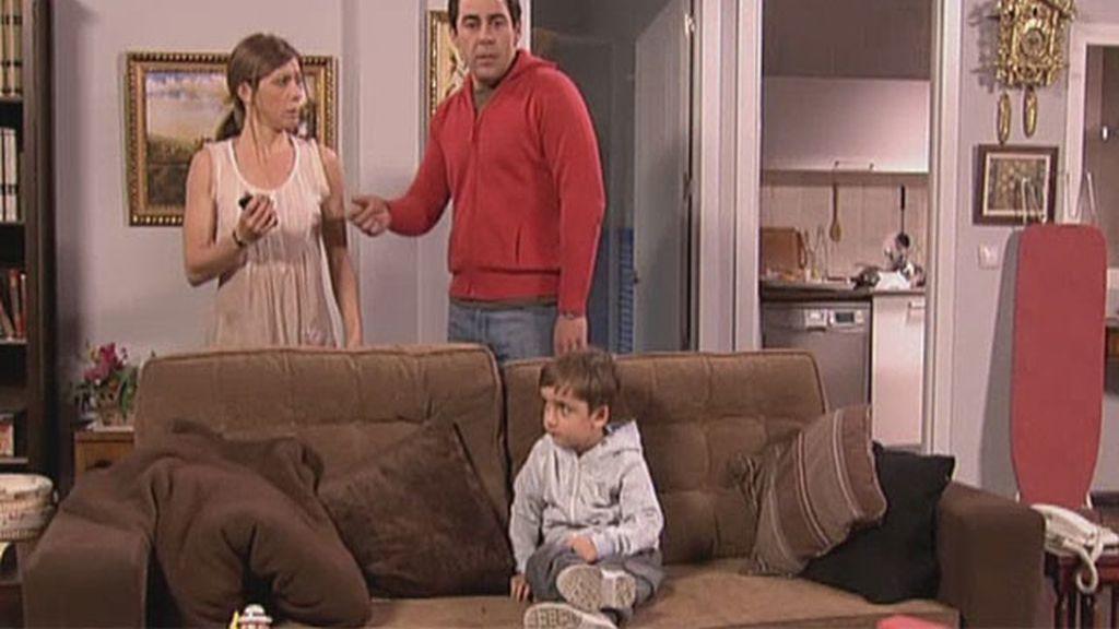 Los hijos de Amador y Maite ya son mayores