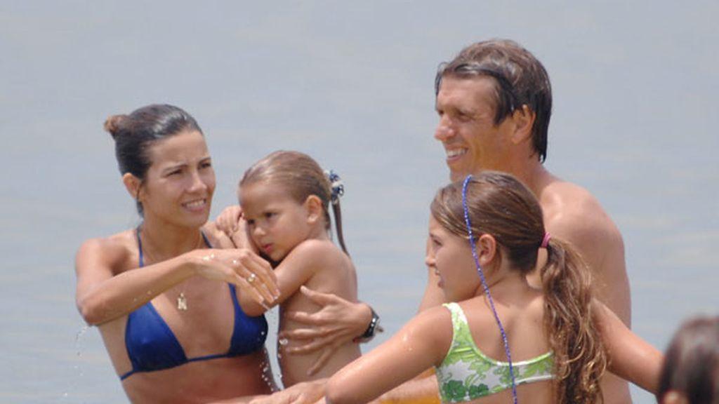 Manuel Díaz 'El Cordobés' vacaciones en familia en Marbella