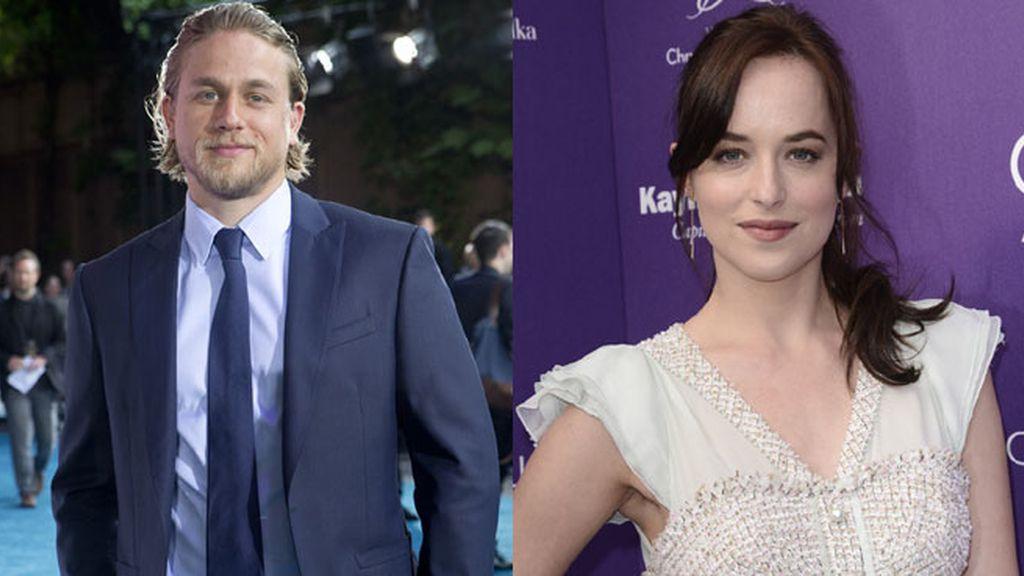 Charlie Hunnam y Dakota Johnson serán Anastasia Steele y Christian Grey