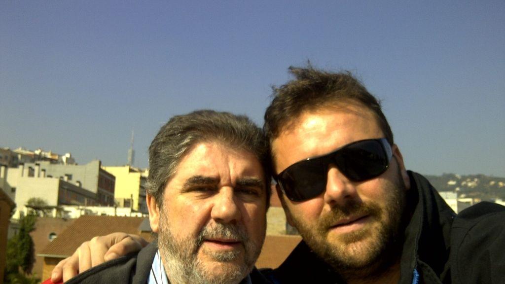 José Luis, junto a su hijo Pau Bestard