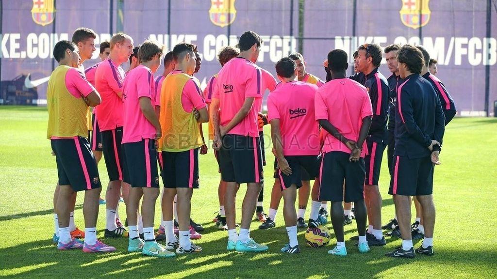 El FC Barcelona comienza a preparar el 'clásico'