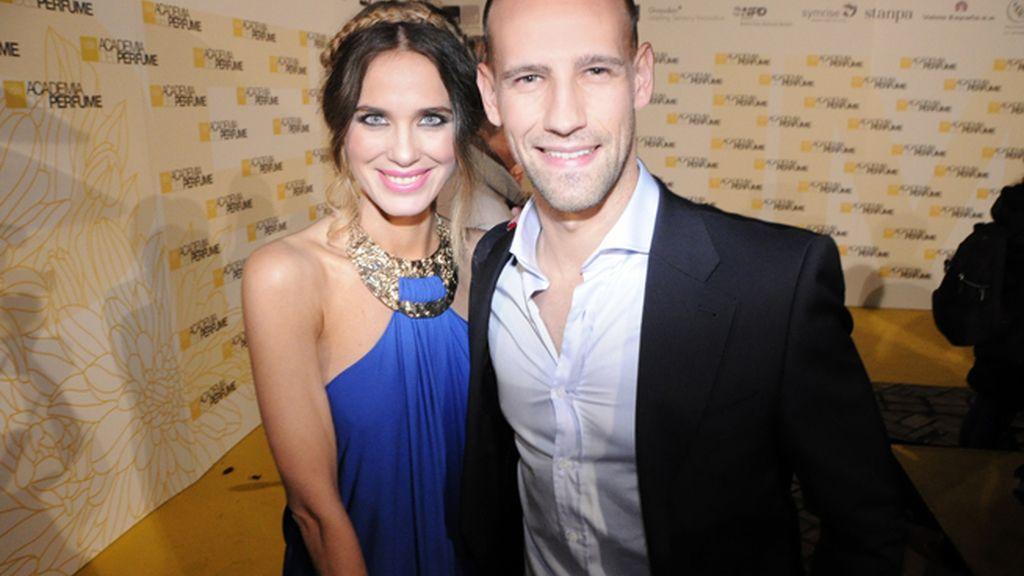 Vanessa Romero junto a Gonzalo Miró