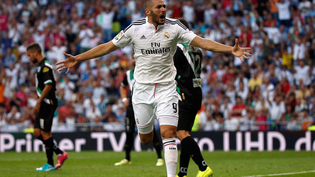 Benzema vuelve a marcar con el Real Madrid