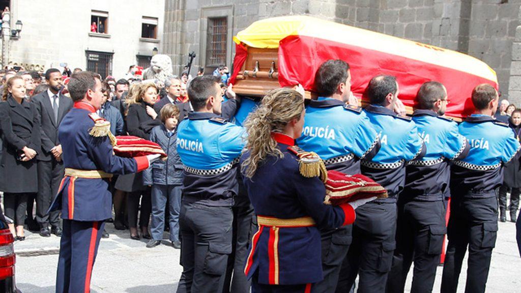 Funeral en la catedral de Ávila