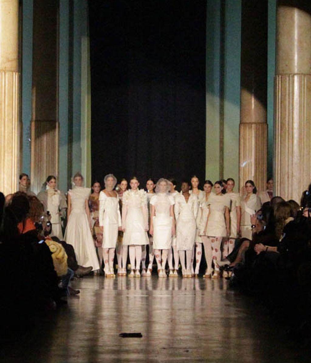 La exquisita visión de Lafuente sobre Da Vinci, la moda como arte