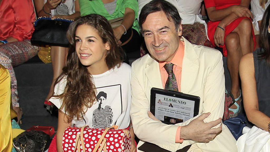 Pedro J Ramírez y Cósima en Ágata Ruiz de la Prada