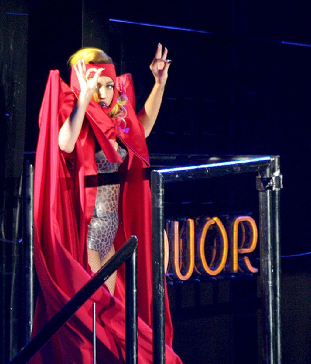 Lady Gaga desata la locura en Barcelona