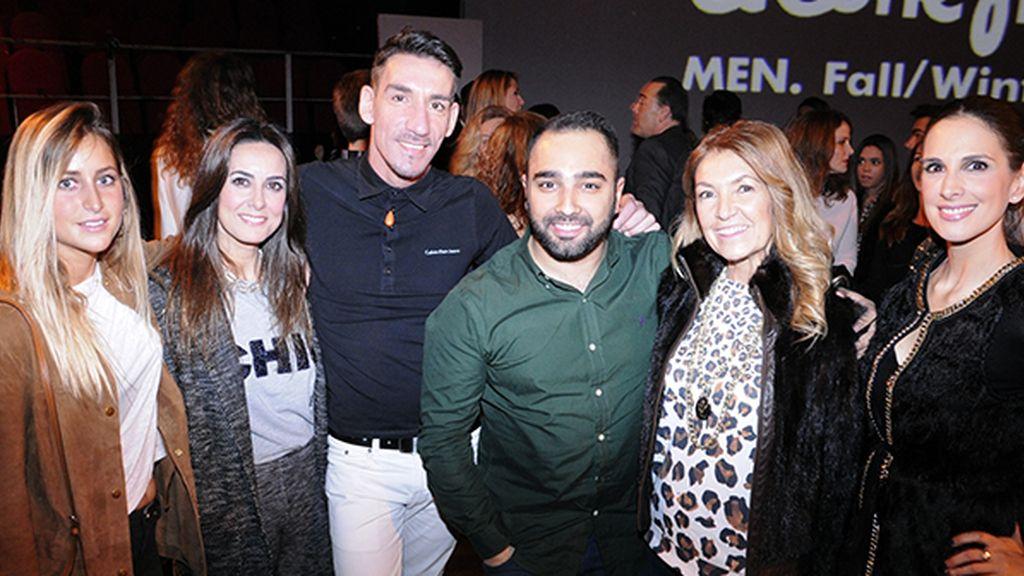 Lucia Martiño, Magali Yus, Ismael Gasco, Tomás Palacios, Yolanda Rubio y Nuria Fergó